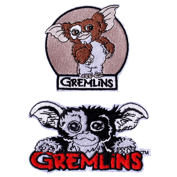 gremlin, ironon, Fabric, cute
