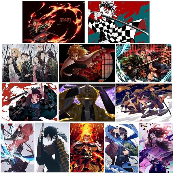Decor, demonslayerkimetsunoyaiba, Wall Art, Wall Posters