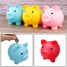 Box, moneyboxe, Decor, piggybank