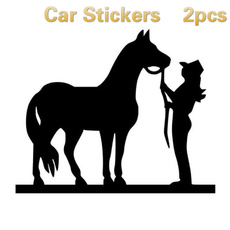 horsedecal, horse, Home Decor, Cowgirl