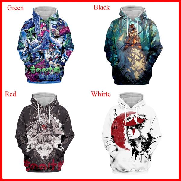 Hip-hop Style, 3D hoodies, Fashion, Coat