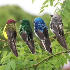 Mini, fakebird, Garden, foamfeatherbird