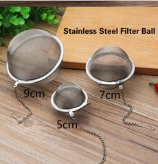 meshherbalball, Steel, leaf, teafilter
