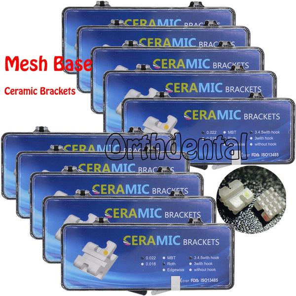 dentalceramicbracket, dentalbracketroth022, dental, Ceramic