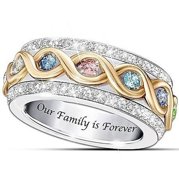 Family, DIAMOND, femalering, Jewelry