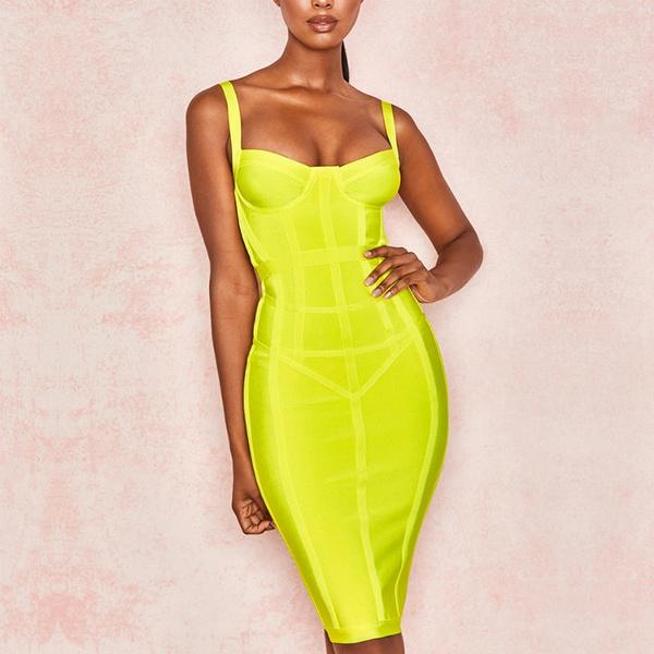 pencil, bandage dress, Evening Dress, slim