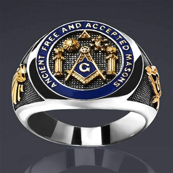 Steel, Fashion, hip hop jewelry, masonicjewelery