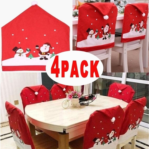 decoration, Christmas, christmaschaircover, Home & Living