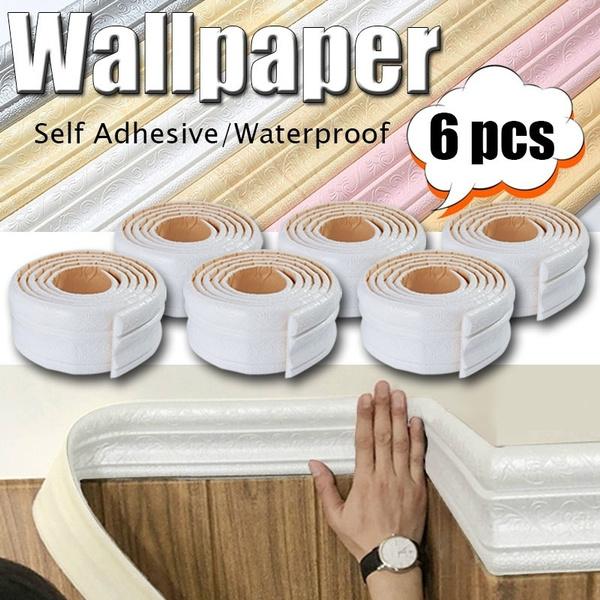 Bathroom, Waterproof, foamedgebanding, Stickers
