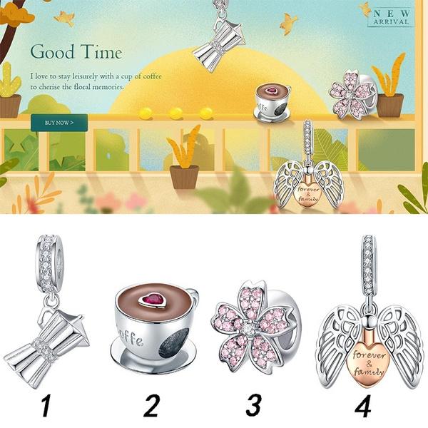 Charm Bracelet, pink, diyjewelry, Jewelry