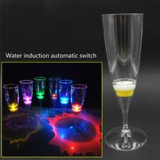 led, Romantic, Cocktail, Glass