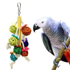 Toy, petparrottoy, Pets, birdsbiteball