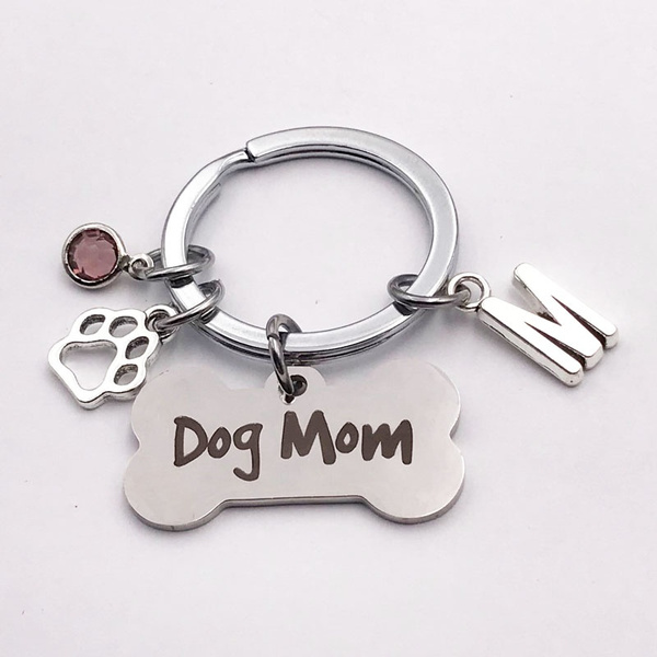 initial, keyringkeychain, Chain, doglovergift
