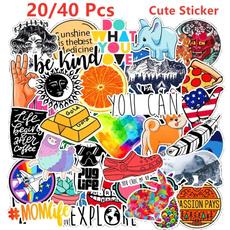 cute, Waterproof, Stickers, graffitisticker