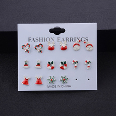 snowman, Fashion, Christmas, chicearring