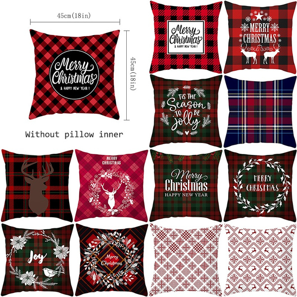 Christmas, sofacushioncover, Sofas, Pillow Covers