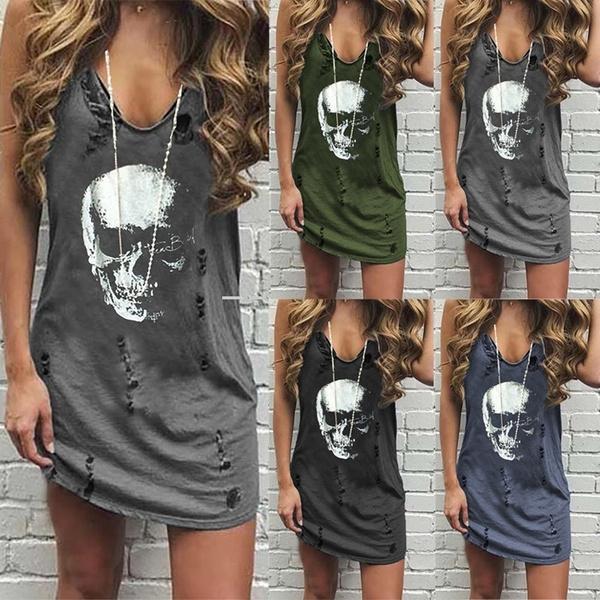Deep V-Neck, nightclub dress, tanktopdre, summer dress