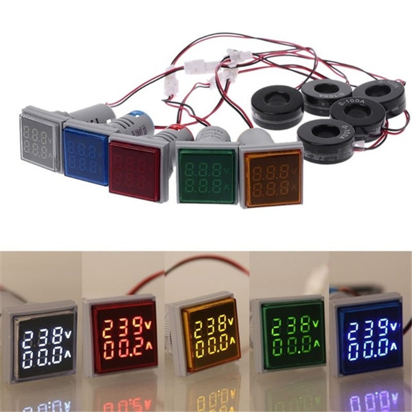 leddigitalvoltmeter, voltagegauge, led, currentindicator