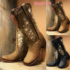 Fashion, cowgirlboot, Knee High Boots, Cowgirl