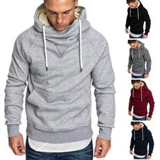 Casual Hoodie, pullover hoodie, Sleeve, Long Sleeve