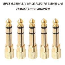 maletofemale, audioaccessorie, Audio Cable, stereoconverter