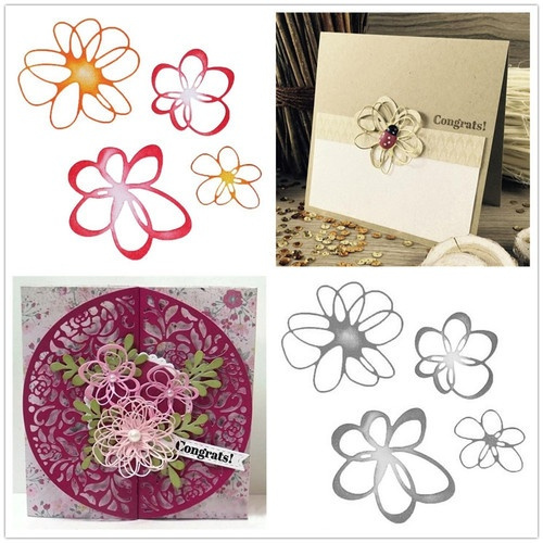 lacecuttingdie, Flowers, stencilcraftdie, metalcuttingdie