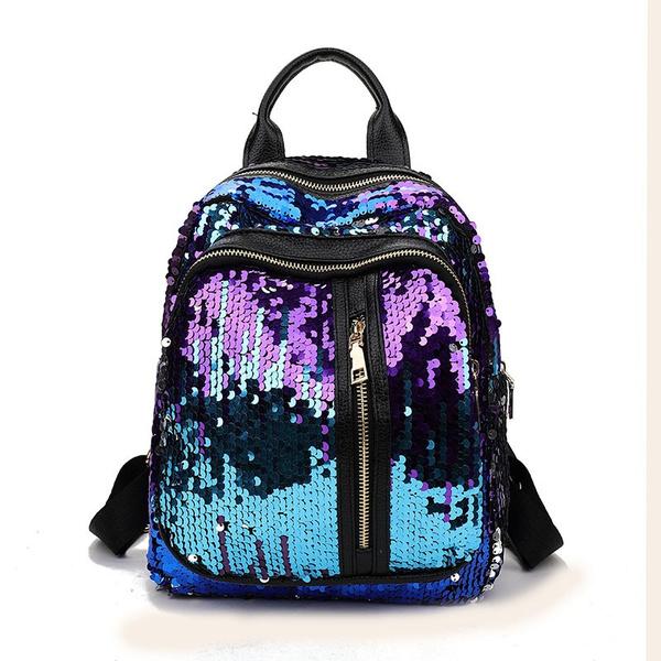 women bags, sequin backpack, women backpack, Festival