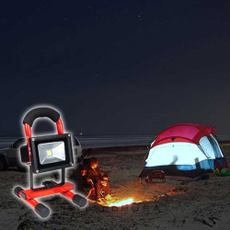 rechargeablefloodlight, ledfloodlightred, camping, Waterproof