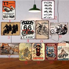 tinsign, Decor, Vintage, Stickers
