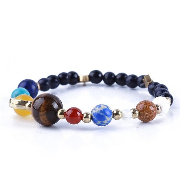 Charm Bracelet, planetsbracelet, Jewelry, Bangle