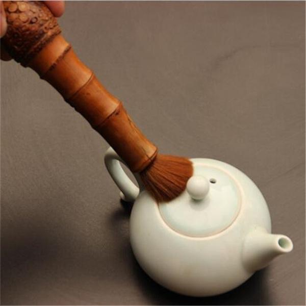 chineseteaset, handmadeteabrush, Wooden, creative gifts