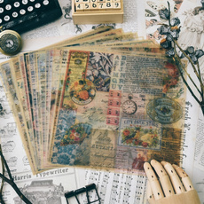Scrapbooking, makingjournaling, Pattern, vellum