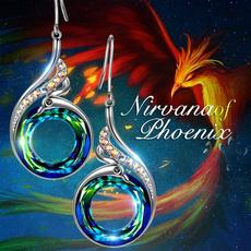 Blues, Multi, Dangle Earring, Jewelry