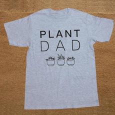 Funny, Plants, Fashion, Cotton T Shirt