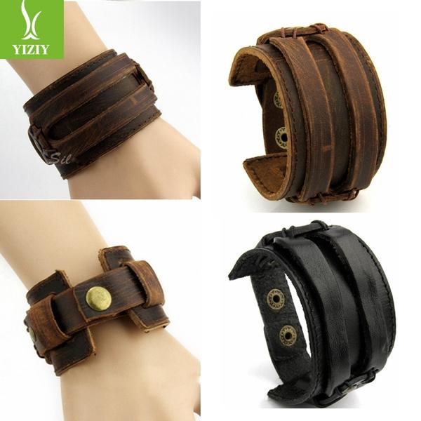 brown, Fashion, Jewelry, manfashionbracelet