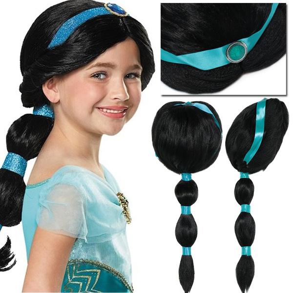 wig, Cosplay, Princess, princessjasmine