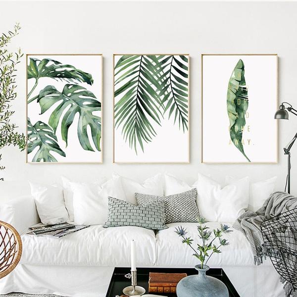 art print, leaves, Plants, art