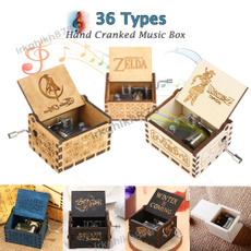 Antique, Box, musicboxe, Movie