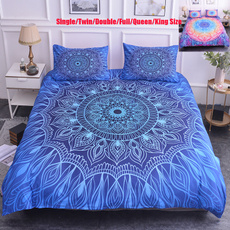 King, mandalabeddingset, Home textile, quiltcover