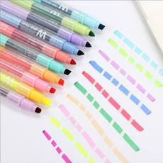 finetip, Pastels, highlighter, doubleend