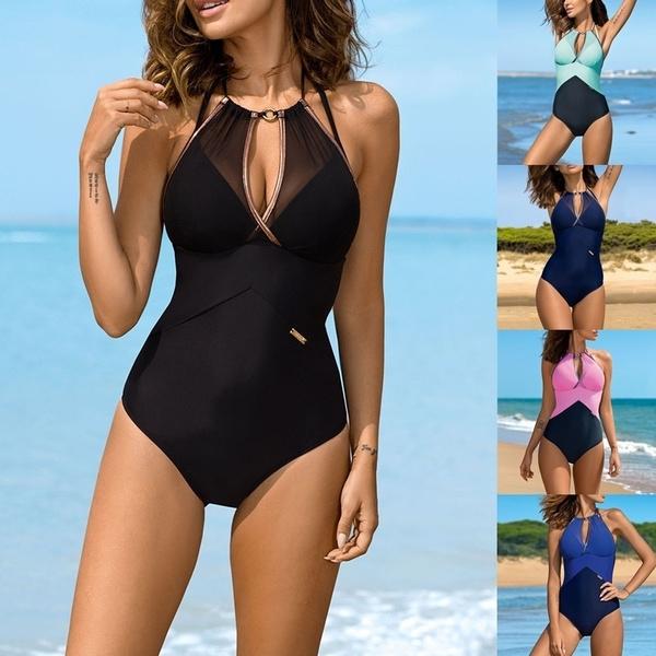 Summer, Plus Size, women beachwear, sexy swimsuit