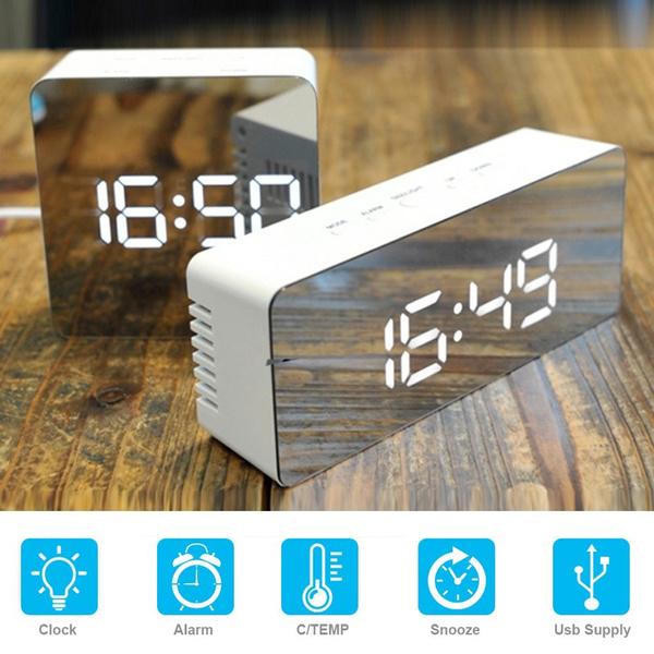 electronicclock, usb, Office, Led Clock