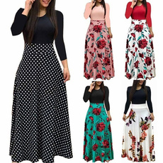long skirt, Plus Size, long dress, Dress