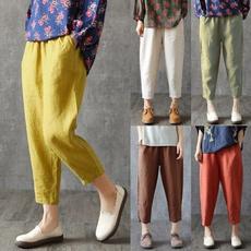 summertrouser, Summer, Plus Size, Casual pants