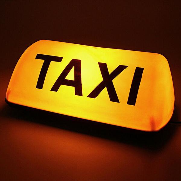 taxi, taxisignlight, Fashion, signlamp