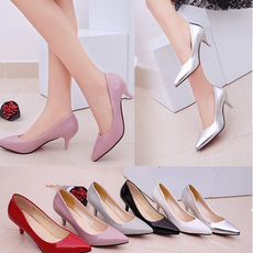 Moda, loslandifen, Womens Shoes, leather