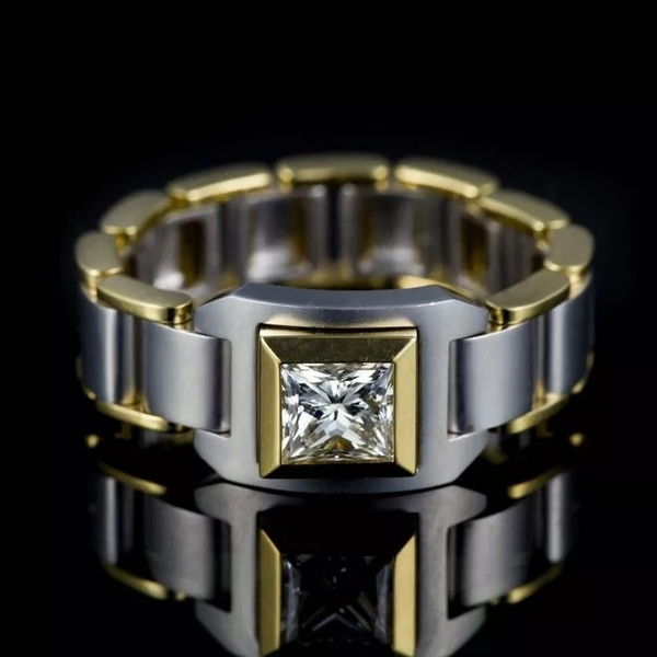 Steel, ringsformen, Fashion, Chain