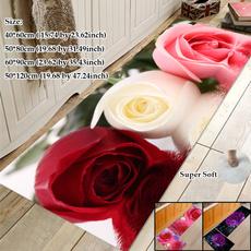 doormat, Bathroom, Flowers, Home Decor
