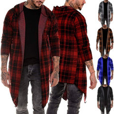 hoodiesformen, plaid, knit, Hoodies