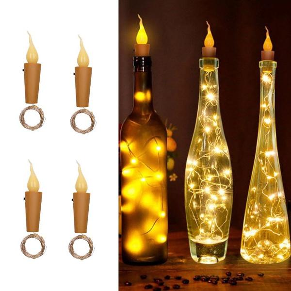 bottlestopperlight, winebottlecorklight, led, Home Decor
